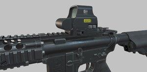 assault rifle m4a1 3D model