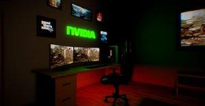 gaming room model