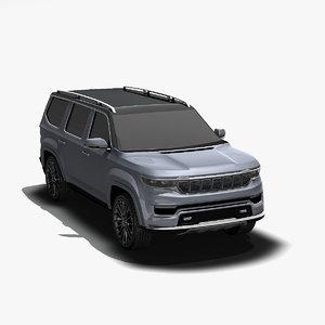 wagoneer concept 3D model
