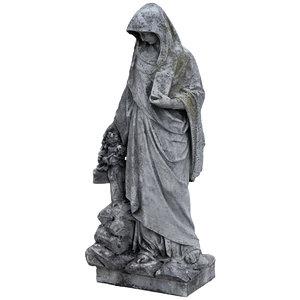 cemetery statue model