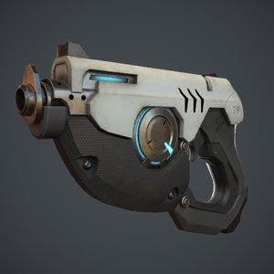 3D gun pbr ready