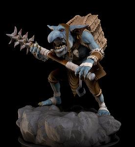 3D model creature goblin