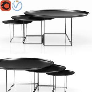3D tables italia model