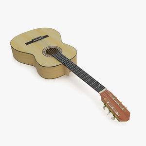 3D guitar 6 model