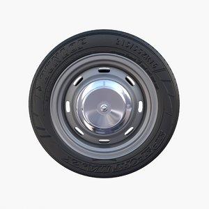 generic car wheel model