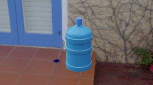 3D water demijohn