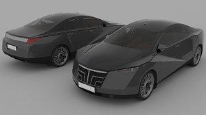 car design 3D model