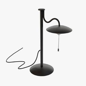 3D table lamp generic