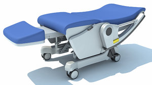 hospital patient chair model