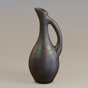 3D pitcher wood