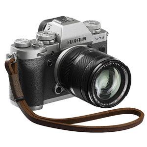 3D fuji fujifilm camera model