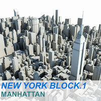 New York Manhattan Block.1