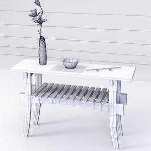 katana screen table 3D model