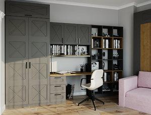 room study design 3D