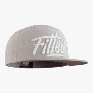 3D model fitted cap