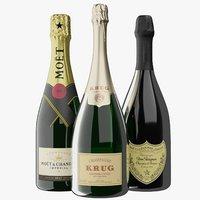 Realistic Premium Champagne Collection PBR
