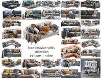 Scandinavian sofas collection