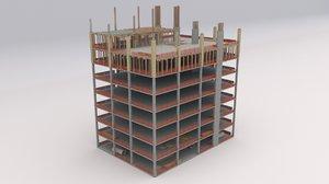 3D construction building model