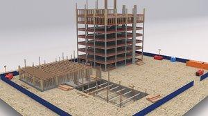 construction building model
