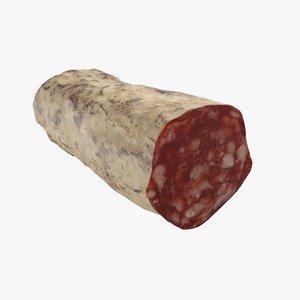salami sausage meat 3D model