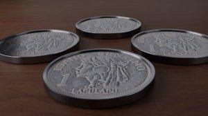 3D philippines centavos