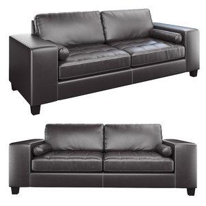 3D ashley nokomis sofa