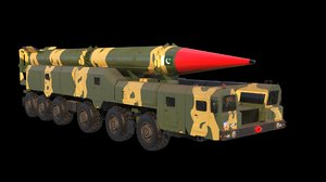 Shaheen-2 missile launcher