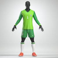 Goalkeeper Soccer Uniform