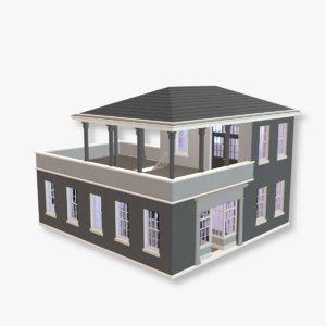 3D big house