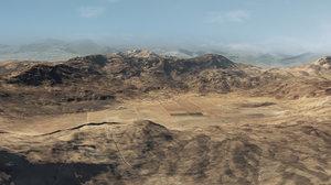 3D model large terrain