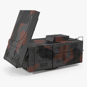 patriot mpq53 radar camo 3D