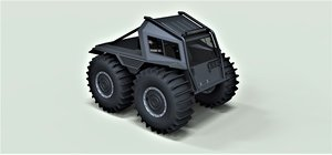 3D sherp pickup model