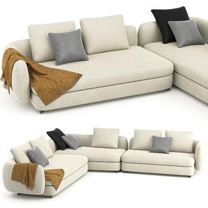 saint germain sofa 02 model