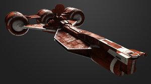 3D model radiant vii republic