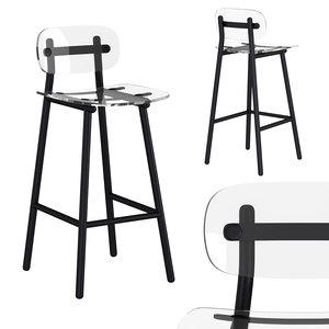 fenster bar chair 3D model