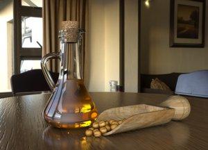 3D soybean oil