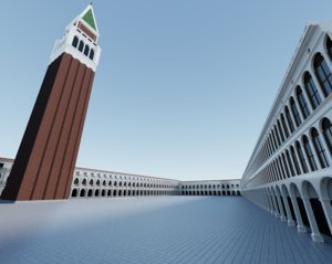 st mark s square 3D model