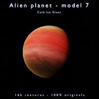 Alien planet - model 7