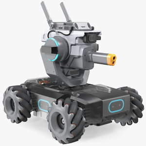 3D dji robomaster s1 intelligent model