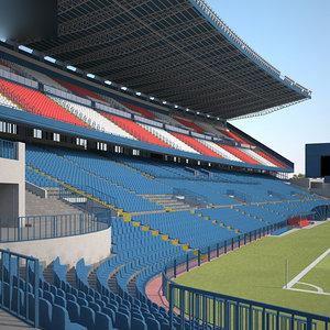 vicente calderon stadium 3D