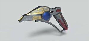 pistol blaster phaser model