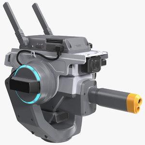 3D dji robomaster s1 mini