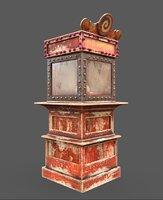 Old Fortune Teller Machine