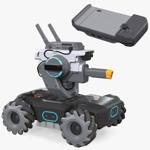 dji robomaster s1 educational 3D