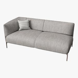 3D model medical sofa