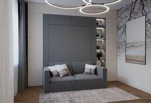 interior wall bed model