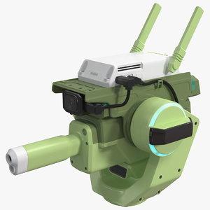 drone cannon 3D