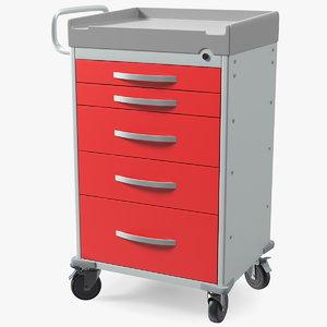3D general purpose medical cart