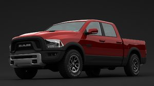 dodge ram rebel 3D