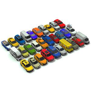 cars pack 3D